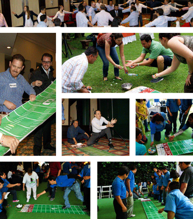 Dinámica Team Building Collage