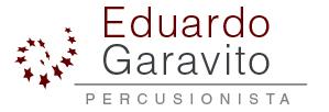 logo Eduardo Garavito- Percusionista