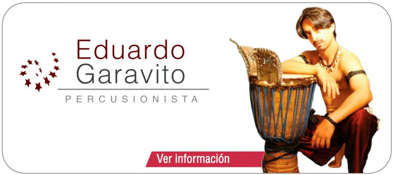 Eduardo Garavito – Percusionista