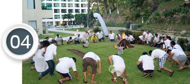 Team Building Caminata sobre Brasas Ardientes
