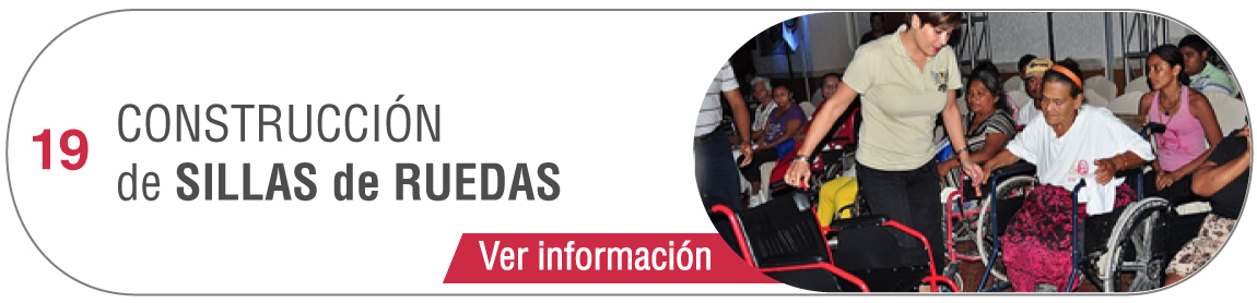 19.- Construcción de Sillas de Ruedas