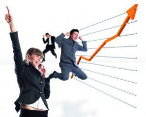 felicidad y ventas, más productividad
