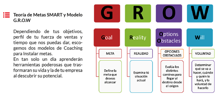 Modelo GROW metas inteligentes