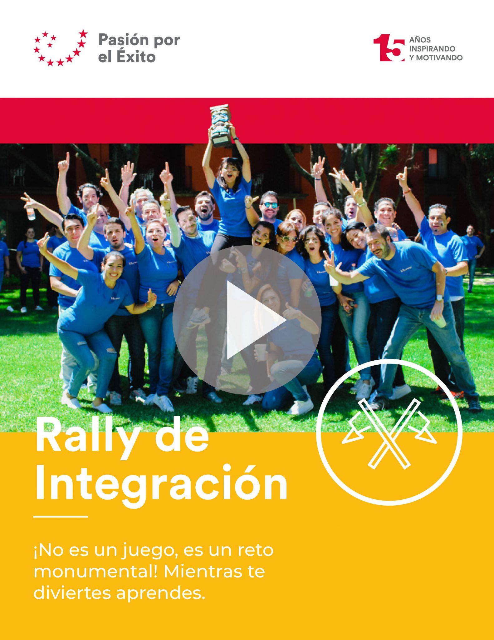Dinámica de Integración y Team Building